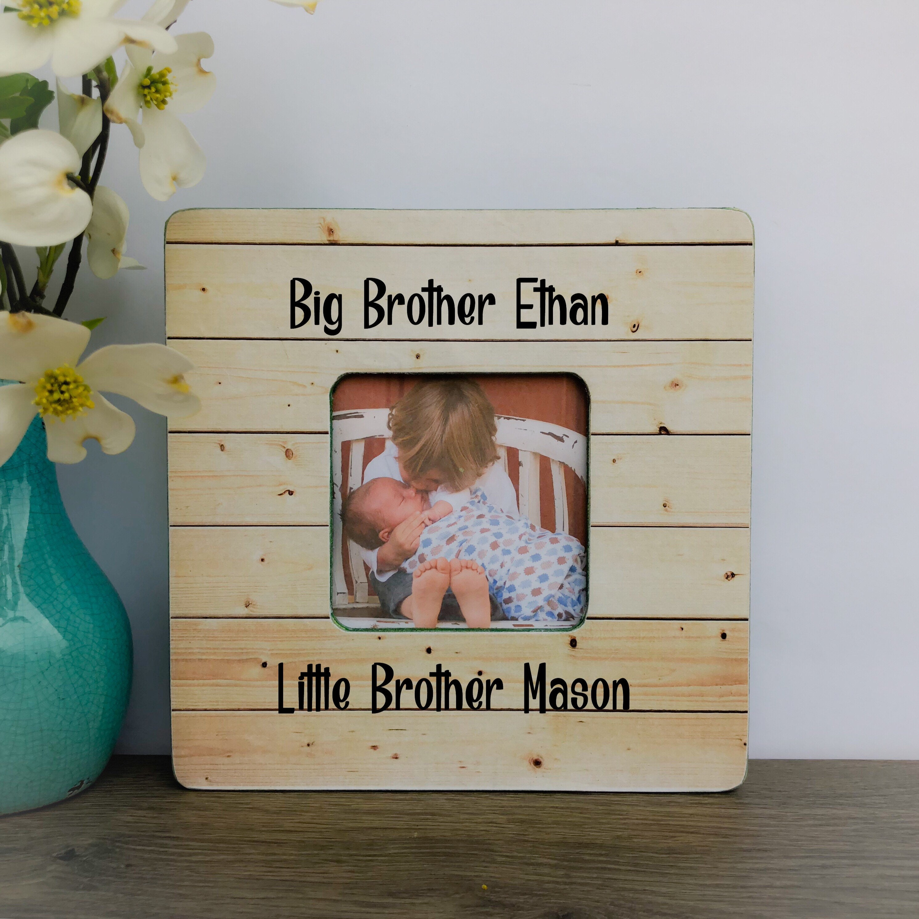 Big Brother Little Brother Personalized Frame Nursery decor | Etsy