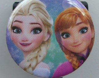 "Disney Frozen ""Elsa and Anna"" badge reel"