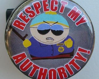 """South Park Cartman """"Respect My Authority"""" badge reel"""