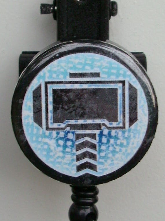 Thor Face Badge Reel