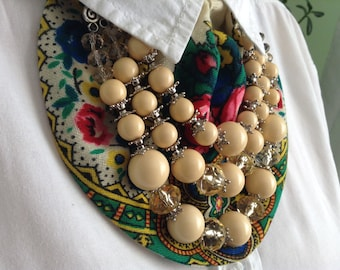 Necklace in Ukrainian style