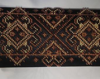 Small bag, bag with beads, handmade bag, wallet bag, evening handbag