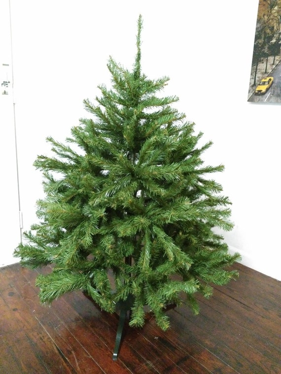 4 Foot Christmas Tree.Dense 4 Foot Vintage 80 S Christmas Tree Looks Real