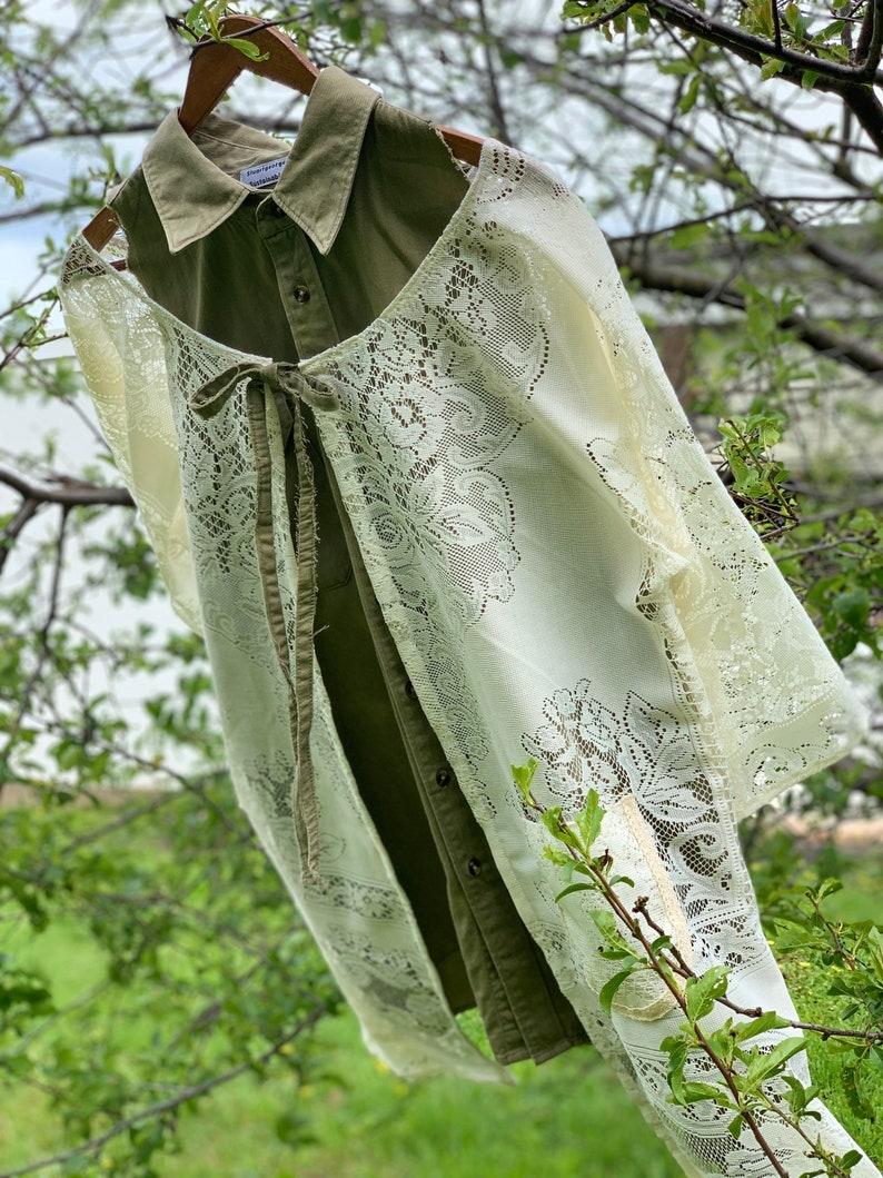 Lacey kaftan kimono