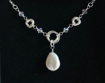 Sterling Silver Möbius Magic Chain Maille Necklace