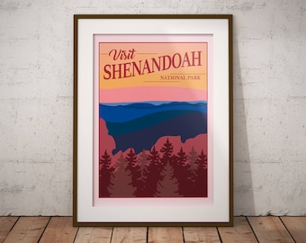 Shenandoah | National Park Series | Instant Download