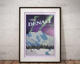 Denali | National Park Series | Instant Download