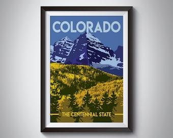 Colorado | Travel Poster | Instant Download