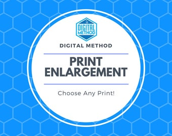 Enlargement Fee | Any Poster | Resize