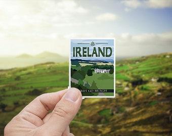 Ireland | Sticker | Waterproof | Travel Series