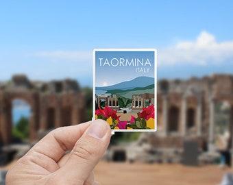 Taormina | Italy | Sticker | Waterproof | Travel Series