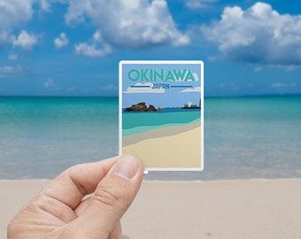 Okinawa | Japan | Sticker | Waterproof | Travel Series