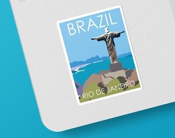 Rio de Janeiro | Brazil | Sticker | Waterproof | Travel Series