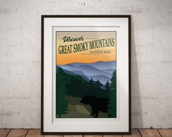 Great Smoky Mountains | National Park Series | Instant Download
