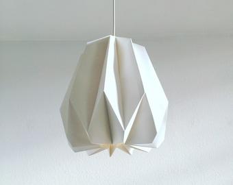 Zurich Origami Lampenschirm Aus Papier Regulierbare Etsy