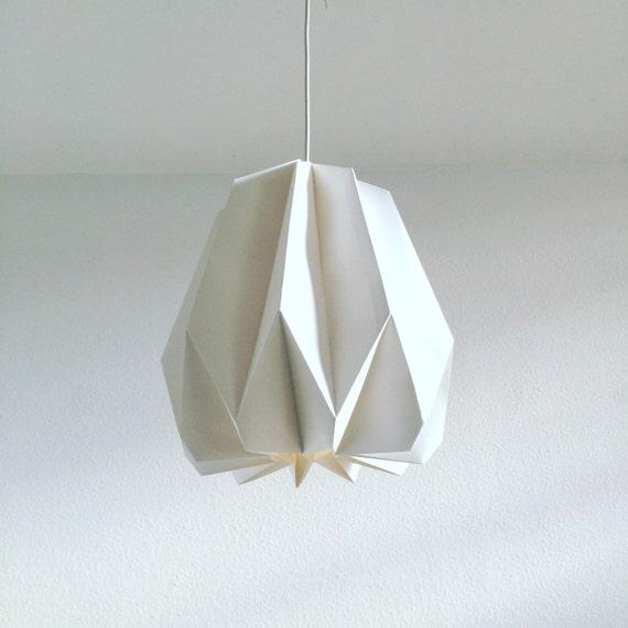 opuntia origami lampenschirm handgefaltete lampe aus. Black Bedroom Furniture Sets. Home Design Ideas