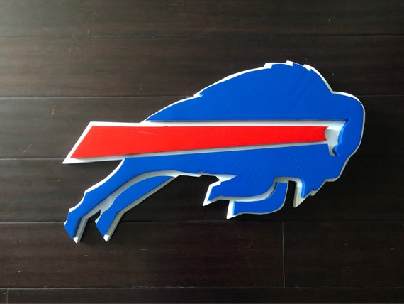 Buffalo Bills Wall Decor Etsy