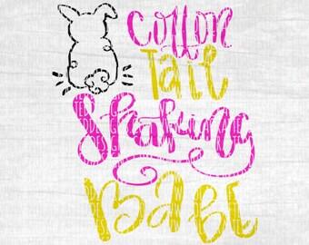 Easter Svg Cut File - Easter Bunny Svg Cut File - Cotton Tail Svg Cut File - Easter Egg Svg Cut File - My First Easter Svg Cut File