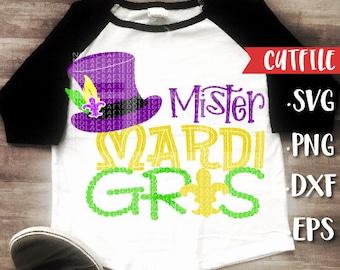 My First Mardi Gras Svg Cut File - Mardi Gras Svg Cut File - New Orleans Svg Cut File - Louisiana Svg Cut File - Silhouette Cricut Cut File