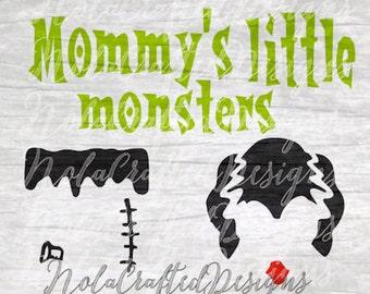 Halloween SVG - Kids Halloween SVG - Boys Halloween svg - Girls Halloween Svg - Monster Svg - Halloween Png - Halloween Vector - Cut file