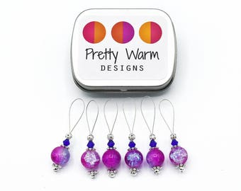 Pink Stitch Markers - Gift for Knitters - Knit Markers - Stitch Marker Knitting - Snag Free Stitch Markers - Knitting Tools - Gift for Her