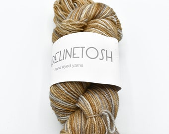 Madelinetosh Yarn - Indie Sock Yarn - Merino Wool - Beige Yarn - Superwash Wool - Knitting Wool - Hand Dyed Sock Yarn - Sock Yarn Destash