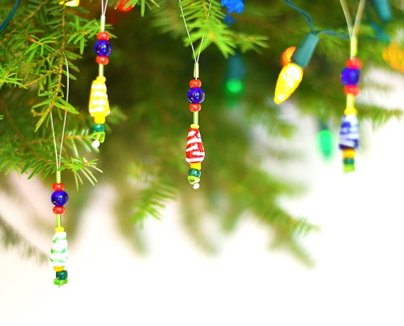 beaded christmas ornaments small christmas ornaments xmas - Small Christmas Ornaments