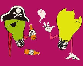 Queens of the Stone Age Poster - Era Vulgaris - Custom Band Posters - QOTSA - Josh Homme - American Rock - Gift Alternative