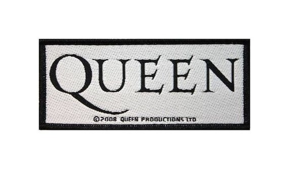 QUEEN patch: Logo Woven Sew On Patch Rock Officia… - image 1
