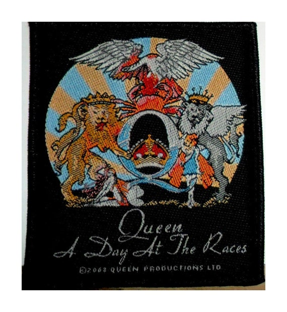 Queen A Day at the Races sew on patch  Freddie Me… - image 1