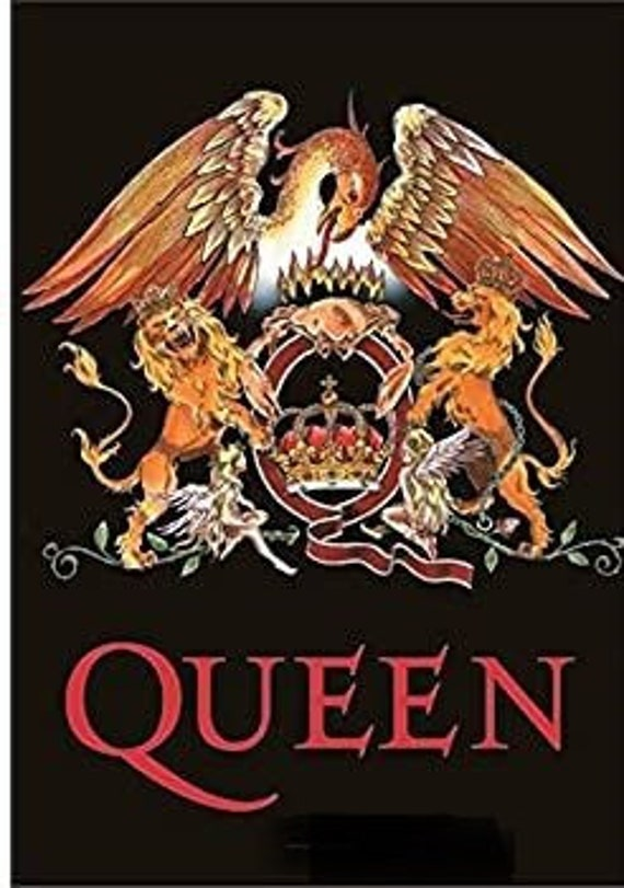 QUEEN flag -crest: Textile Licensed Poster Flagsi… - image 2