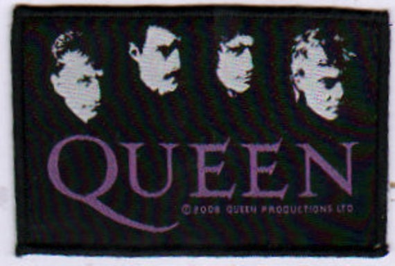 QUEEN patch:  Logo Woven Sew On Patch Rock Offici… - image 1