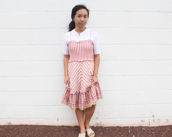 Frill Peasant Dress Gunne Sax Prairie Dress - image 3