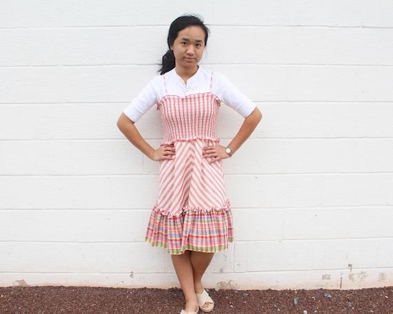 Frill Peasant Dress Gunne Sax Prairie Dress - image 6