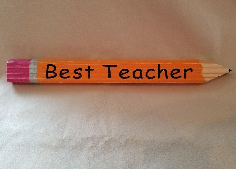 Small Wooden Teacher Pencils