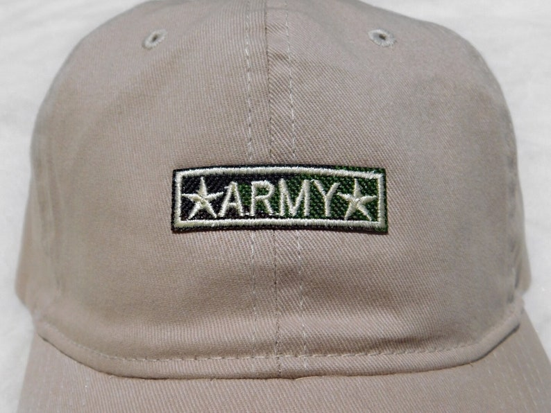 05279741ab0f5 Army Baseball Hat Military Dad Hat USA Hat Patriotic