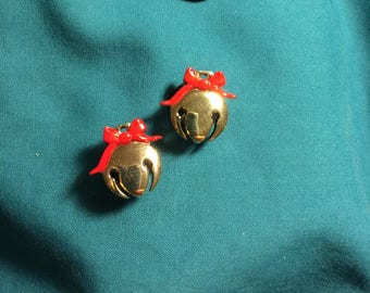 Cute Christmas Gold BELL Sled Bell  Polar Express Bell Clog Shoe Charms