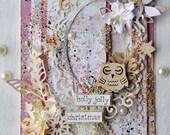 Handmade cards: Holly jol...