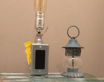 Pipe Lamp, Industrial Lighting, Edison Bulb, Desk Lamp, Industrial Lamp, Galvanized Pipe Lamp