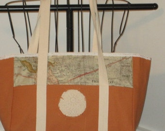 Tim Holtz Eclectic Elements Tote, Tim Holtz Tote, Carry All Tote