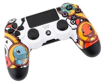 New Sony Playstation Dualshock PS4 Wireless Controller Custom Pokemon Edition