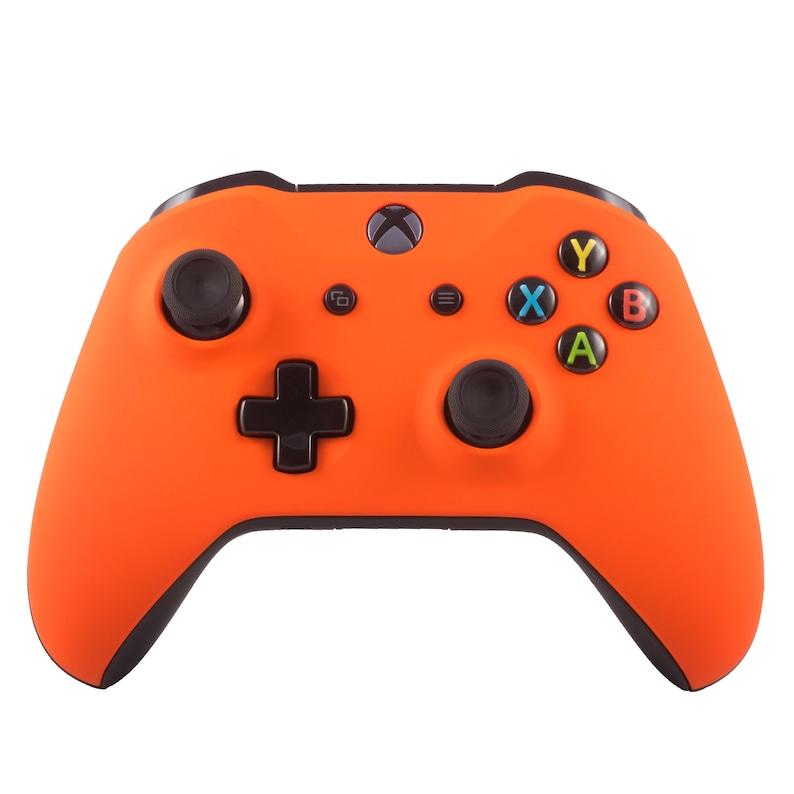 New Microsoft Xbox One S Wireless Bluetooth Controller Custom Soft Touch Orange