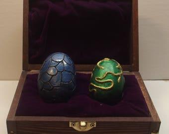 Small Dragon Eggs in treasure box