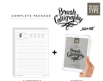 Brush Calligraphy Complete set Ebook