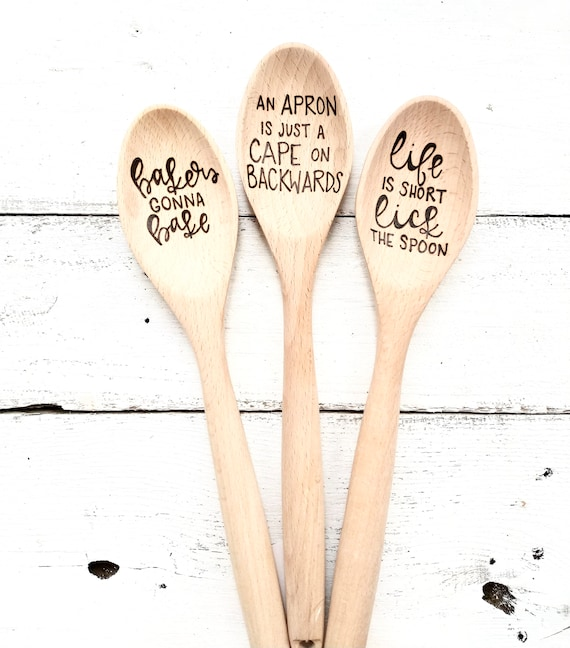 Custom Kitchen Spoons