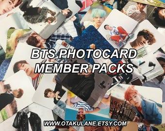 BTS Members Photocards Packs