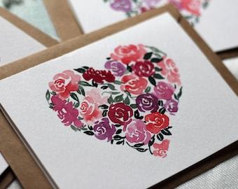 Watercolor Cards Etsy