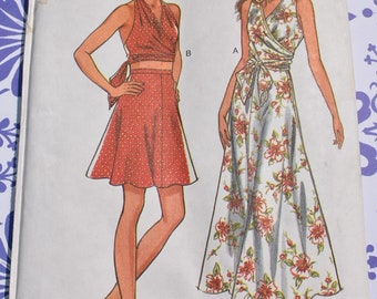 7fa1b01ff76d6 Misses  Top   Skirt Sewing Pattern New Look 6512