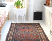 4.8 x 6.5 Deep, Rich, and Moody Tribal Antique rug Andy