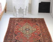 3.5 x 4.10 Extremely Fine Classic Antique Rug Sloane